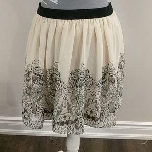 American Eagle elastic waist chiffon skirt